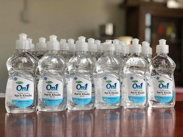 Nguồn hàng sỉ nước rửa tay khô on1 tại tphcm